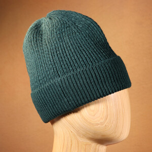 Men's Ribbed Beanie Hat Forest