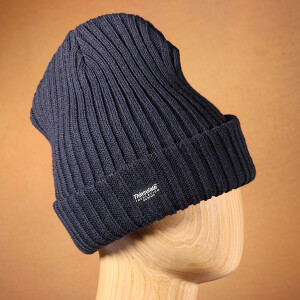 Men's Ribbed Thinsulate Beanie Hat Navy