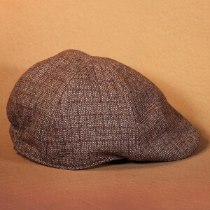Men's Flat Cap Brown