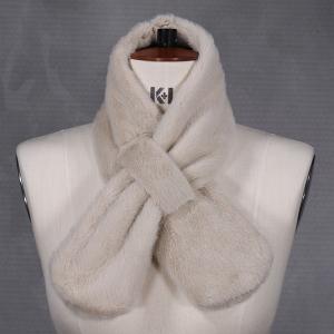Ladies Faux Fur Tippet Natural