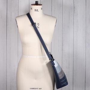 Ladies Contrast Stripe Cross Body Bag Navy