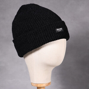 Ladies Chenille Thinsulate Hat Black