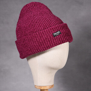 Ladies Chenille Thinsulate Hat Fuchsia