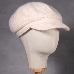 Ladies Baker Boy Hat Cream