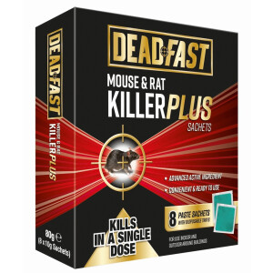 Df Mouse + Rat Killer Plus 8 Sachets