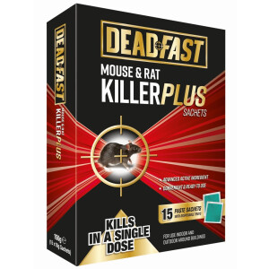 Df Mouse + Rat Killer Plus 15 Sachets