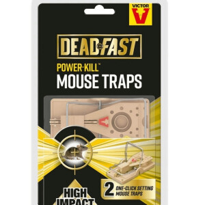 Deadfast Easy Set Mouse Trap Twin Pack