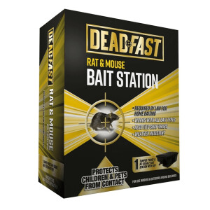 Deadfast Mouse + Rat Bait Station Single
