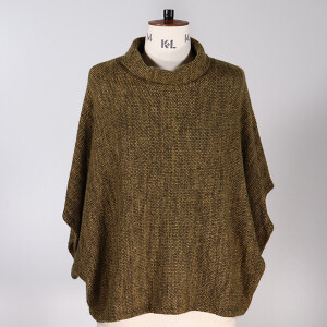Cowl Neck Jumper Mustard