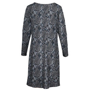 Jersey Long Sleeved Printed Dress Paisley