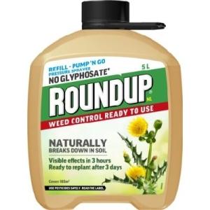 Roundup Natural Pump & Go Refil 5 Litre