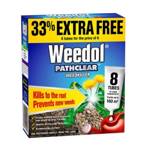 Weedol Pathclear Weedkiller Concentrate 8 pack