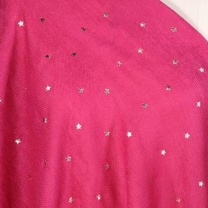 Ladies Starry Night Print Scarf Pink