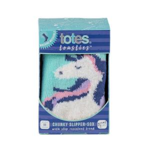 Childrens Boxed Novelty Slipper Socks Unicorn