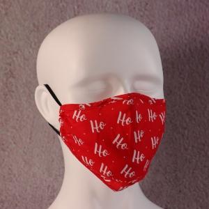 Face Mask Filter Xmas Ho Ho Ho
