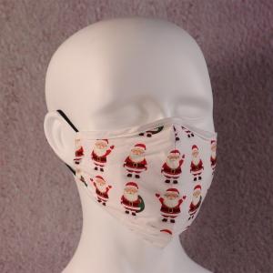 Face Mask Filter Xmas Santa