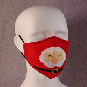 Face Mask Filter Father Christmas