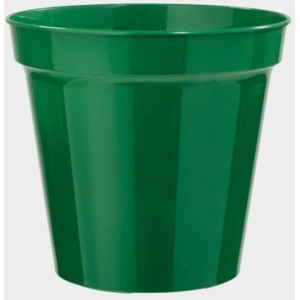 Flower Pot Green 8″