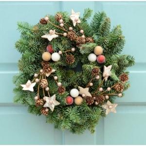 Sumptuous Stars Wreath 8″