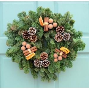 Cinnamon Spice Wreath 10″