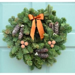 Winter Glow Wreath 10″