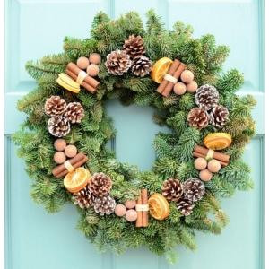 Cinnamon Spice Wreath 14″