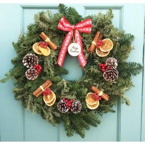 Merry Nights Wreath 12″