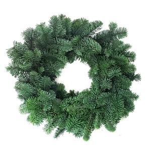 Plain Noble Fir Wreath 8″