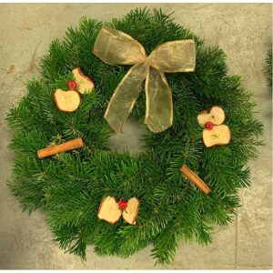 Spiced Natural Wreath 10″