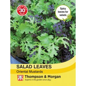 Salad Leaves Oriental Mustards