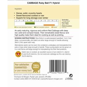 Cabbage Ruby Ball F1 Hybrid