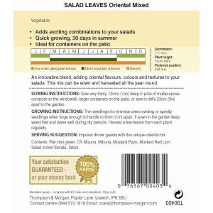 Salad Leaves Oriental Mixed