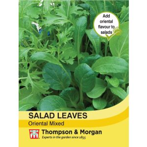 Salad Leaves Oriental Mixed