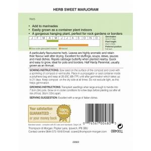 Herb Marjoram Sweet