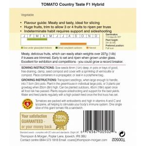 Tomato Country Taste F1 Hybrid