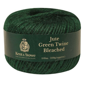 Jute Twine Bleached Green 250g