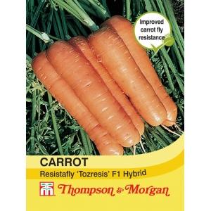 Carrot Resistafly Tozresis F1 Hybrid