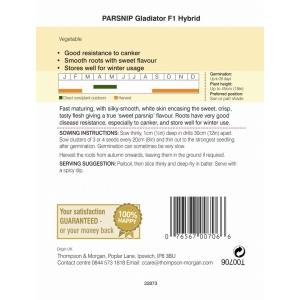 Parsnip Gladiator F1 Hybrid