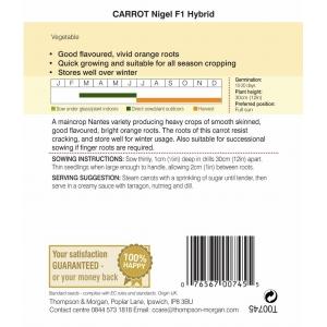 Carrot Nigel F1 Hybrid