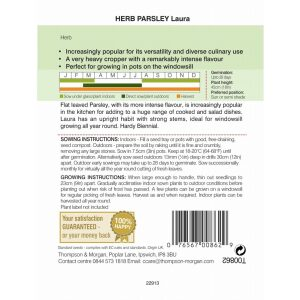 Herb Parsley Laura