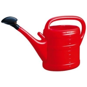Green Wash Watering Can Red 10L