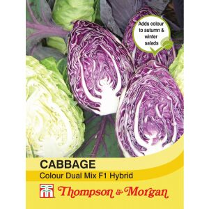 Cabbage Colour Dual Mix F1 Hybrid