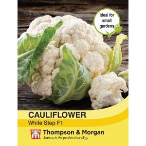 Cauliflower White Step F1 Hybrid