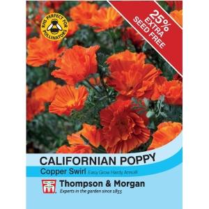 Californian Poppy Copper Swirl