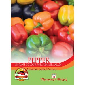 Pepper Sweet Summer Salad Mixed