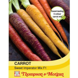 Carrot Sweet Imperator Mix F1 Hybrid