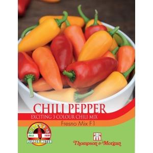 Pepper Chilli Fresno Mix F1 Hybrid