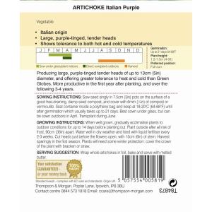 Artichoke Italian Purple