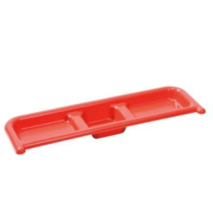Tidy Tray Shelf Red