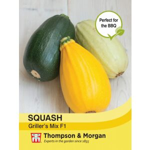 Squash Grillers Mix Green Cream Gold